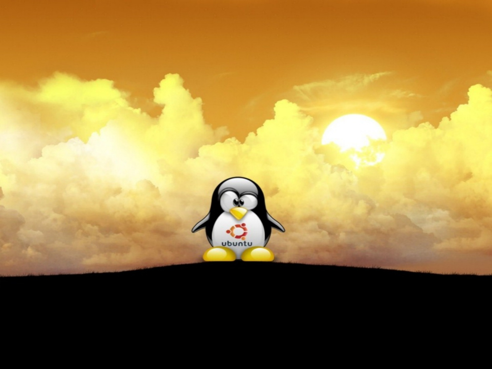 Best Friend Wallpapers For Iphone Penguin ubuntu wallpaper tux 1600x1200