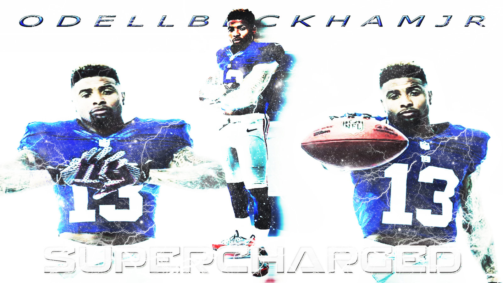 odell beckham jr wallpaper by bengal by bengalbro fan art wallpaper 1600x900