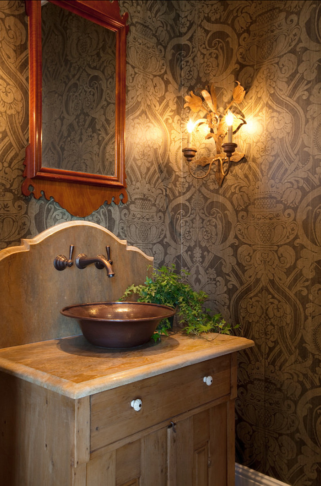 Bathroom Farmhouse Bathroom Farmhouse style Bathroom The wallpaper 642x971