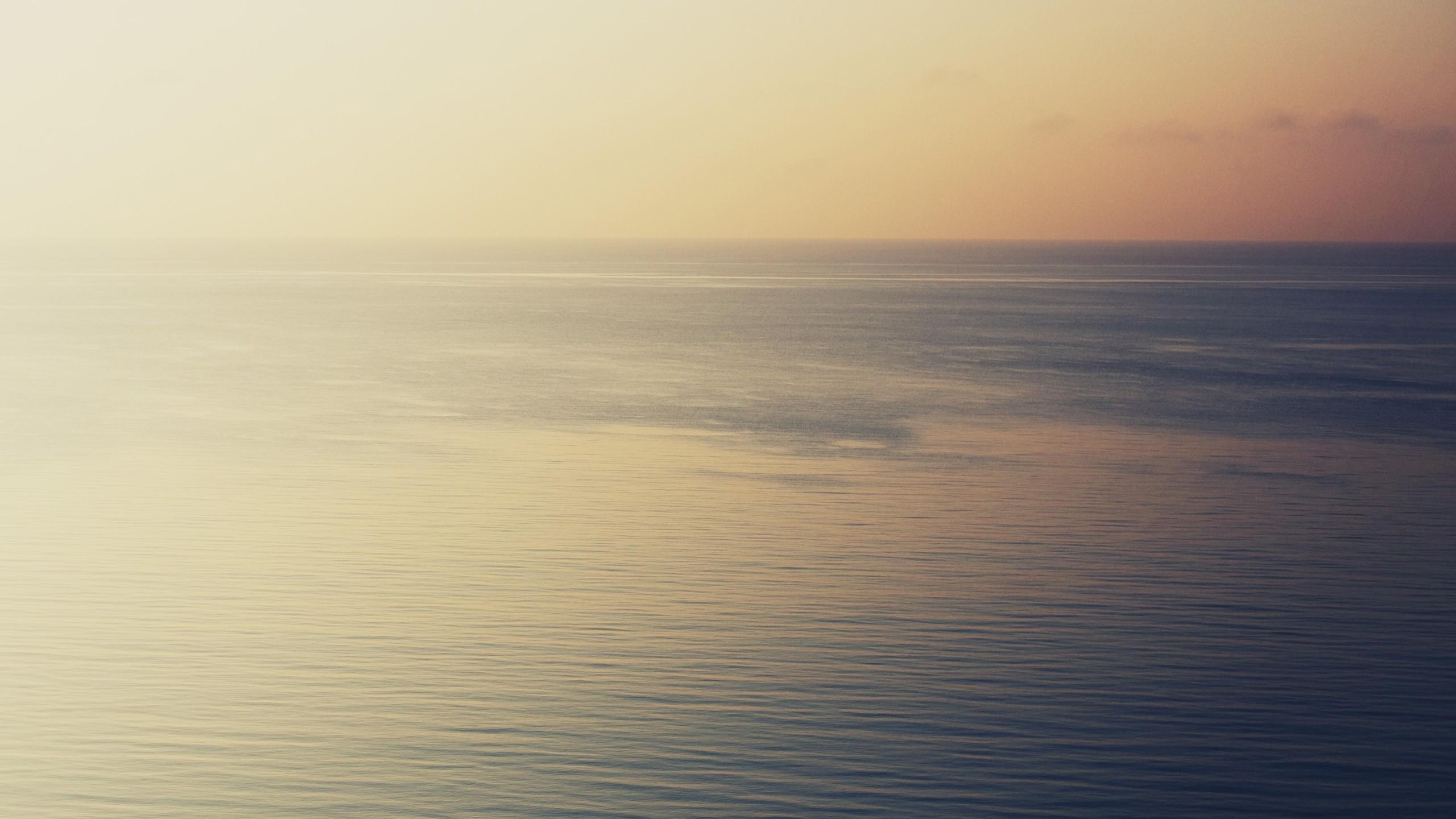 Minimal Sea Wallpaperjpg 2560x1440