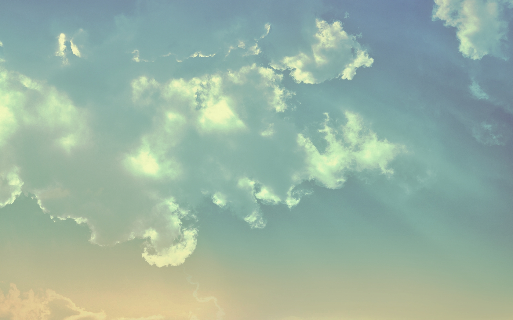 httpstatictumblrcom8lsg8vyU5clrb29ublue beige clouds wallpaper 1680x1050