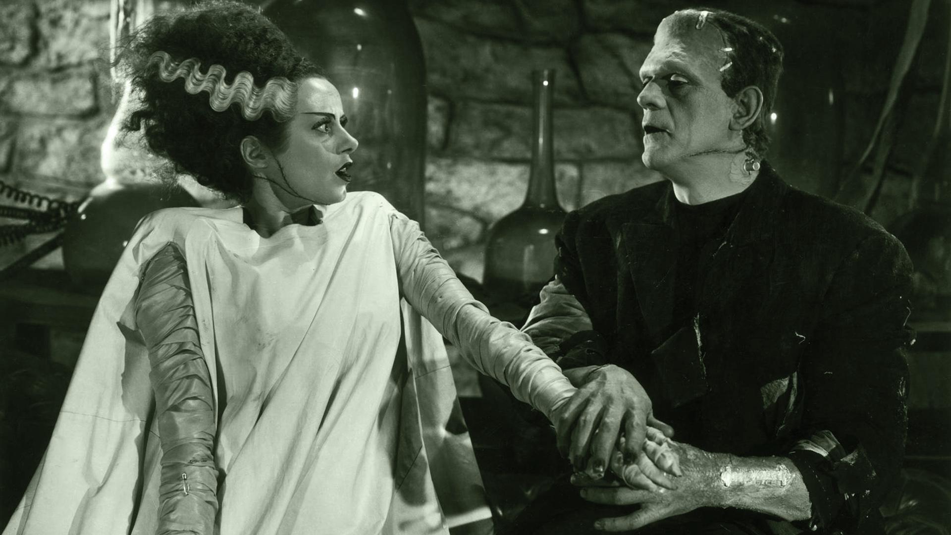 Bride and Frankenstein Wallpapers Bride and Frankenstein HD 1920x1080