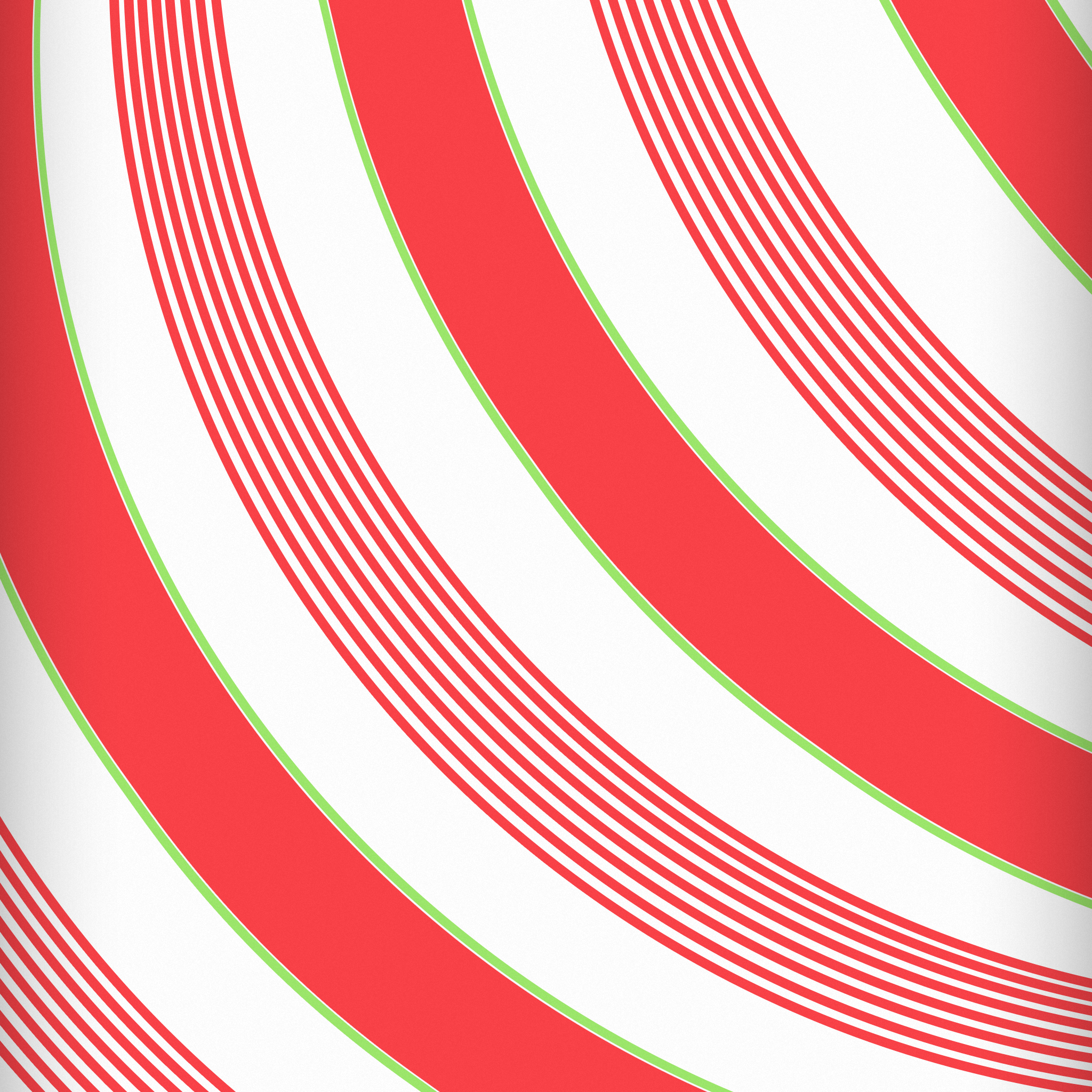 Wallpapers of the week candy canes and gingerbread men 2048x2048