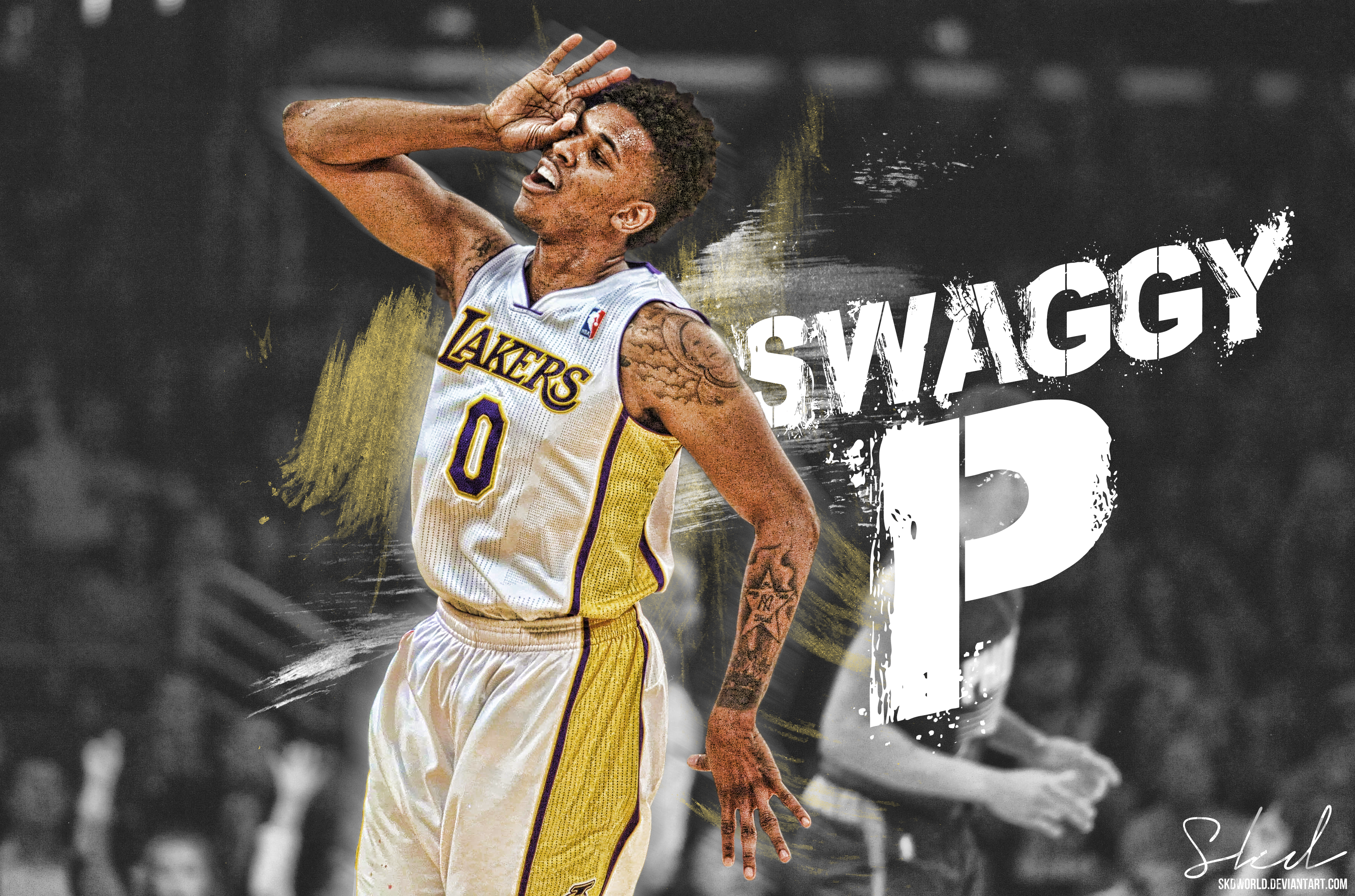 Swaggy P Wallpaper by SkdWorld 3657x2418