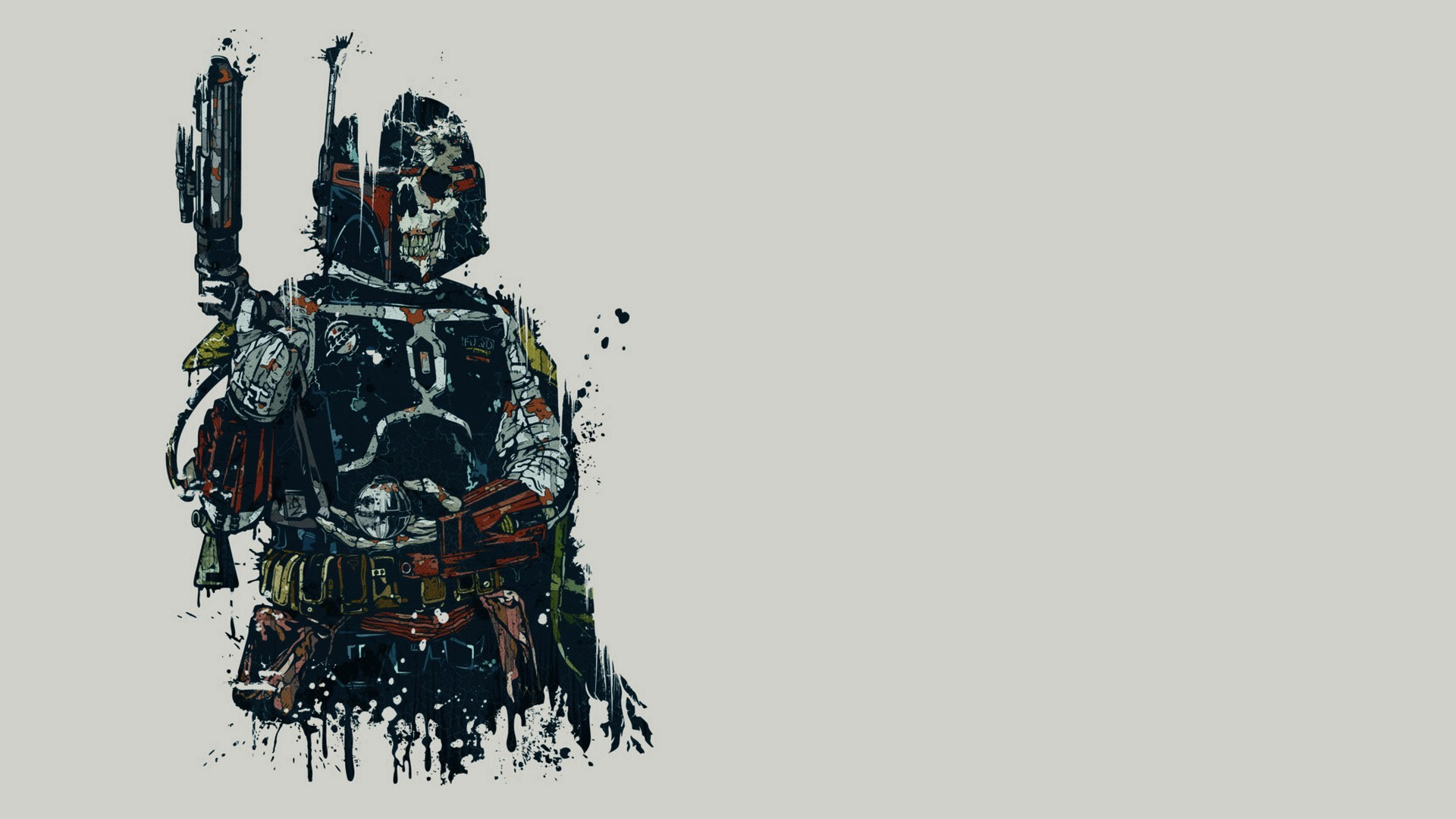 Darth Vader drawing wallpaper 17390 1920x1080
