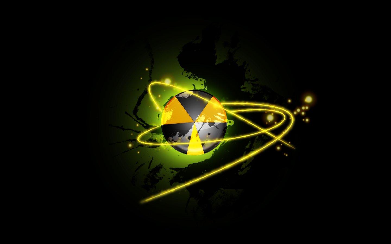 Nuke Symbol Wallpaper Nuclear digital wallpaper 1440x900