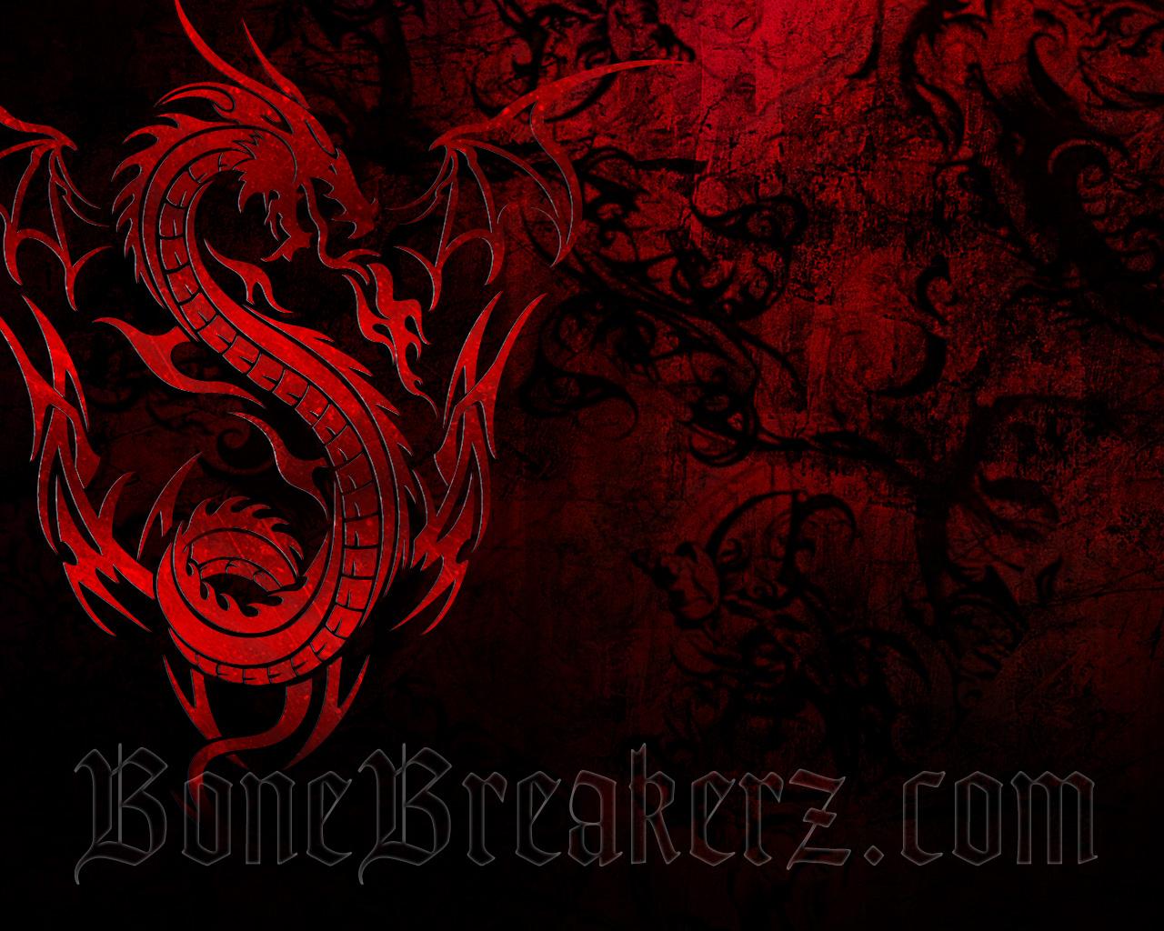 49 Red And Black Dragon Wallpaper On Wallpapersafari