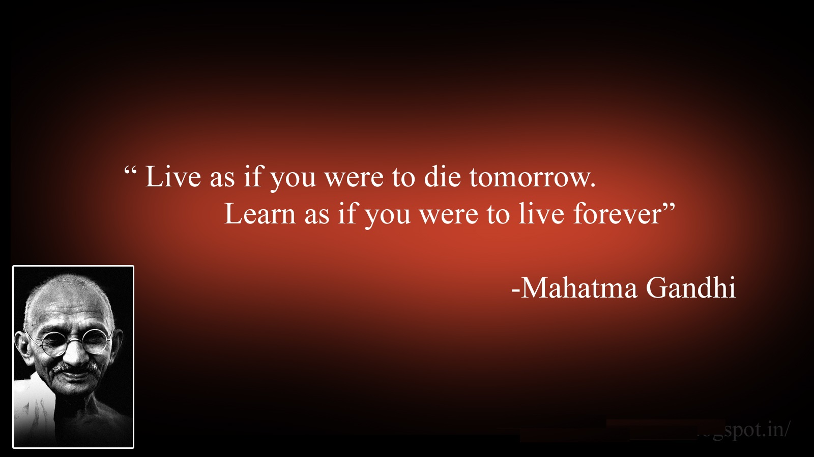 Ghandi Quotes About Life Quotes About Life 1600x900
