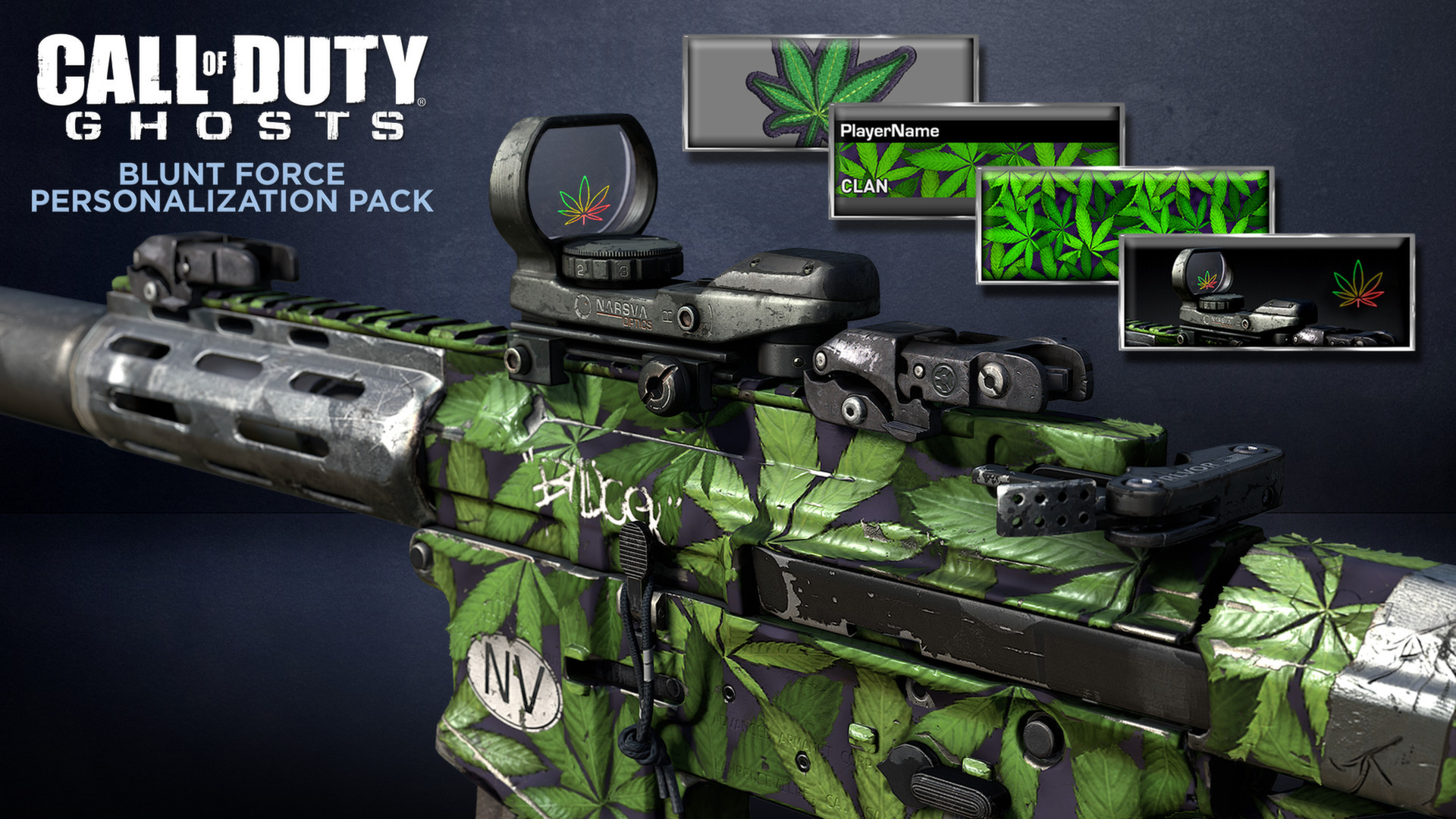 pattern that Call of Duty Ghosts is now selling over Xbox Live 1920x1080
