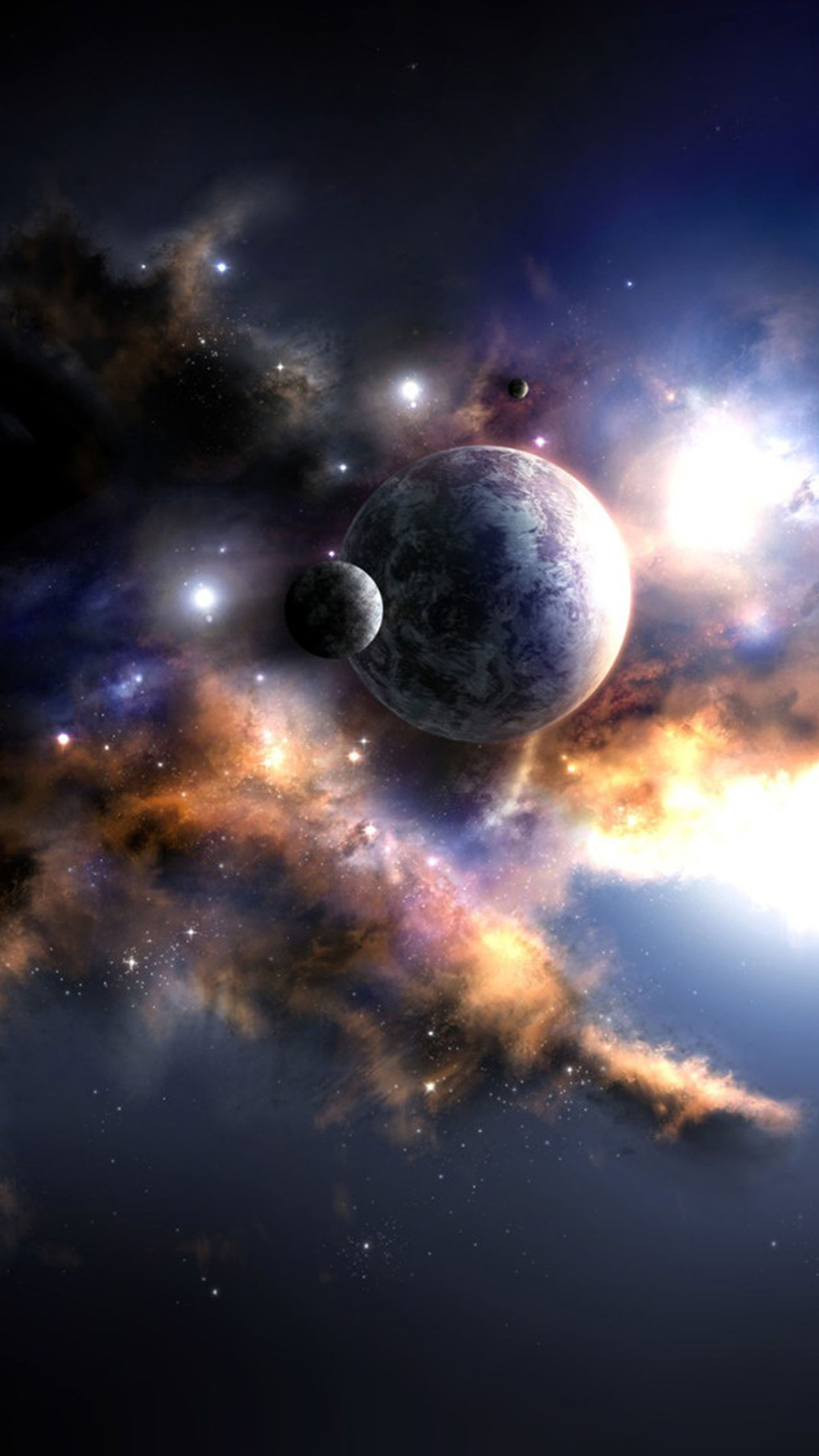 3d solar system wallpaper free download