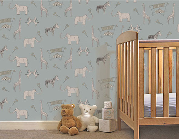 Exclusive Wallpaper Design for Kids Rooms by Katie Bourne Interiors 590x458
