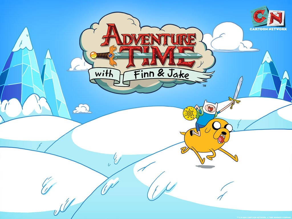Wallpapers   Cartoons Wallpaper Adventure Time with Finn and Jake 1024x768