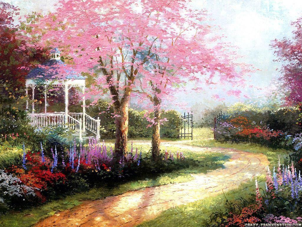 Desktop Wallpapers Spring Scenes 1024x768