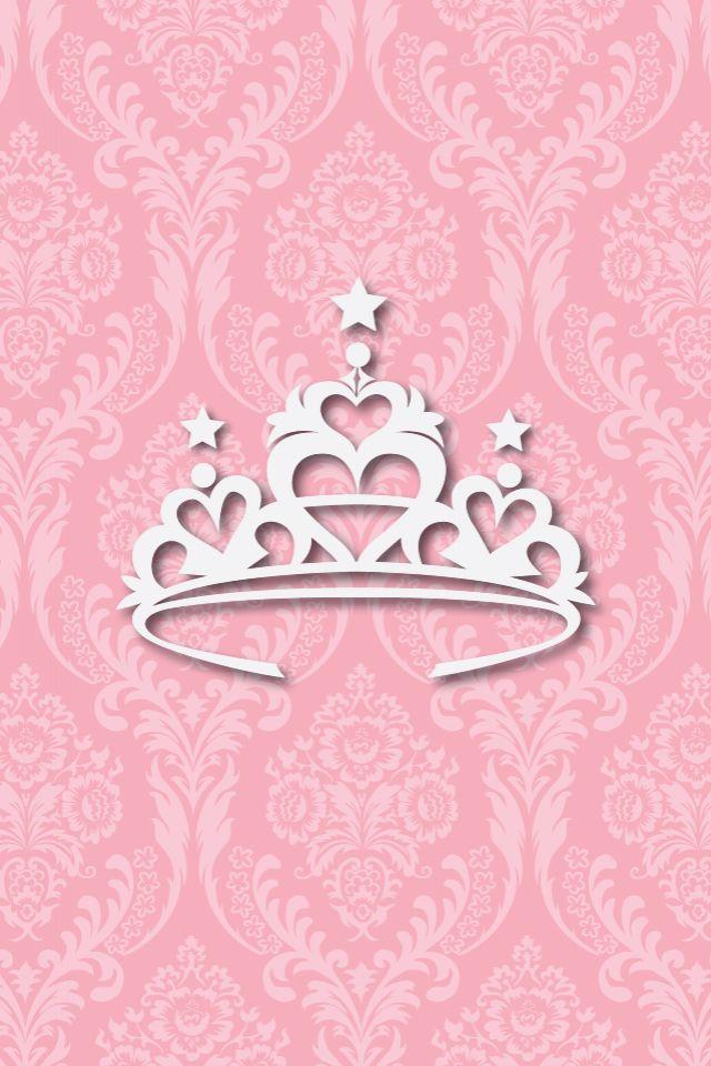 Princess crown Cute Phone Wallpaper Pinterest 640x960