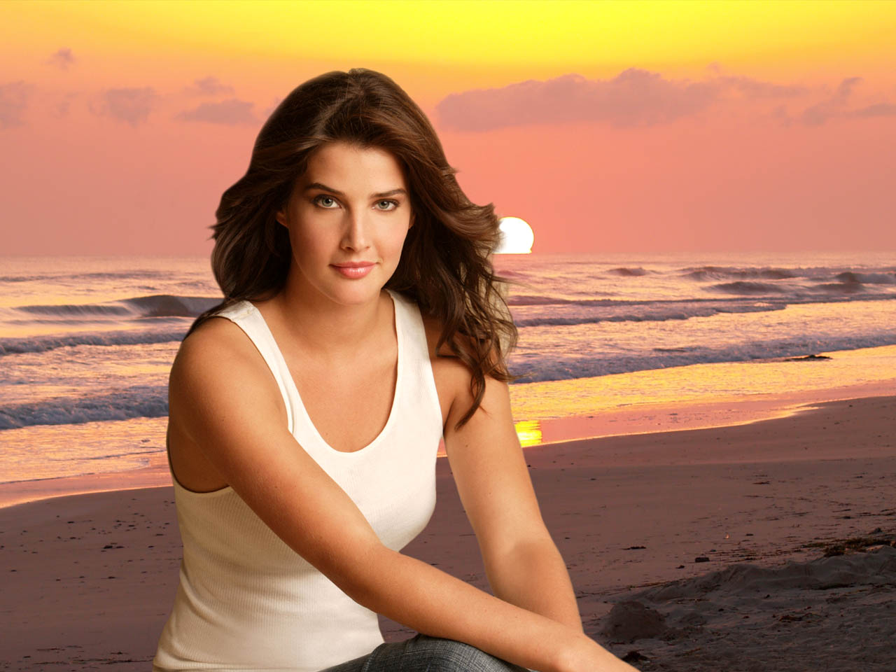 Cobie Smulders hd New Nice Wallpapers 2013   World Sound 1280x960