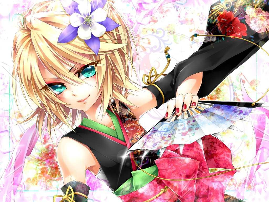 Vocaloid Wallpaper Rin Kagamine Rin Wa...