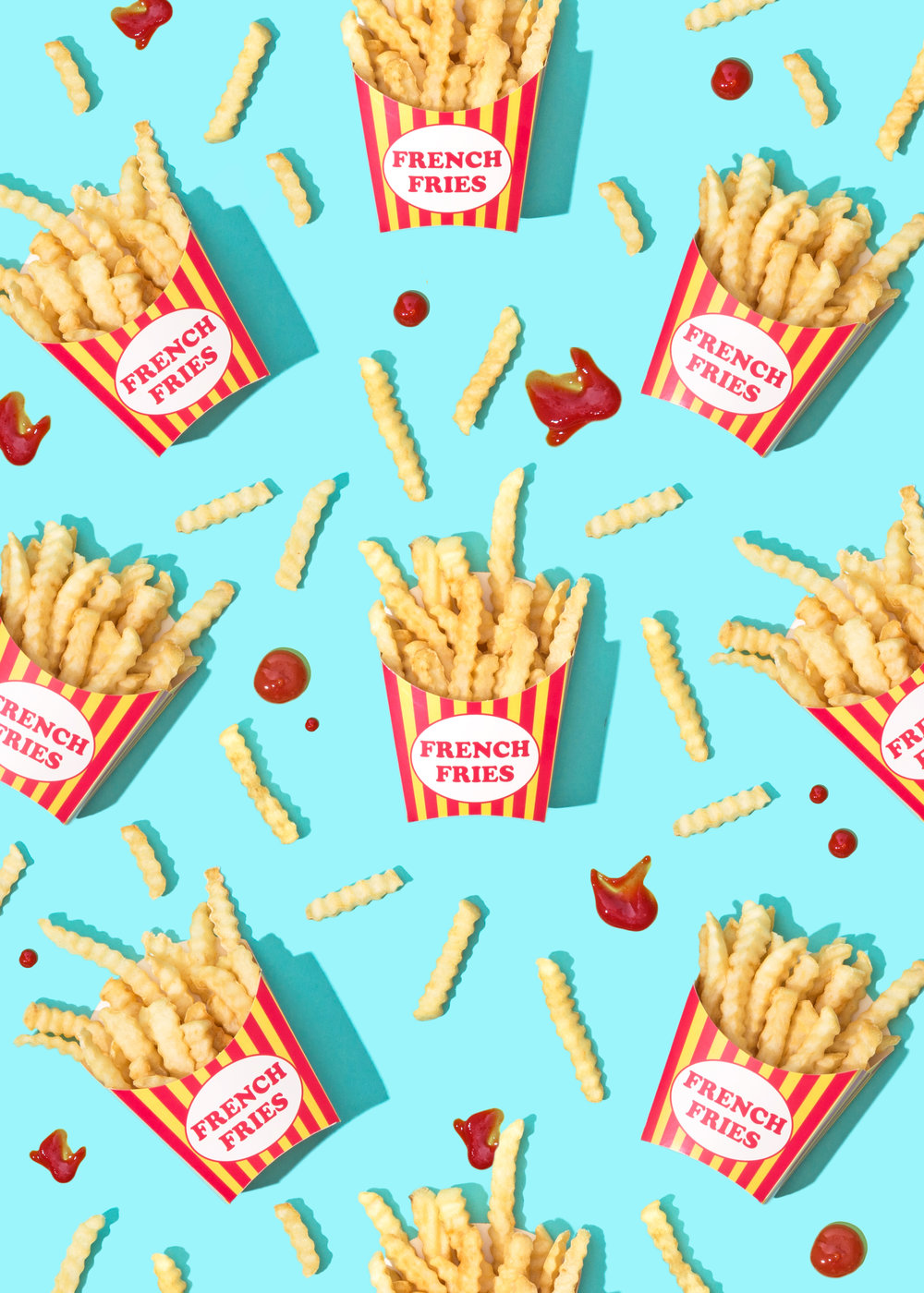 National French Fry Day Wallpaper Download Violet Tinder Studios 1000x1400