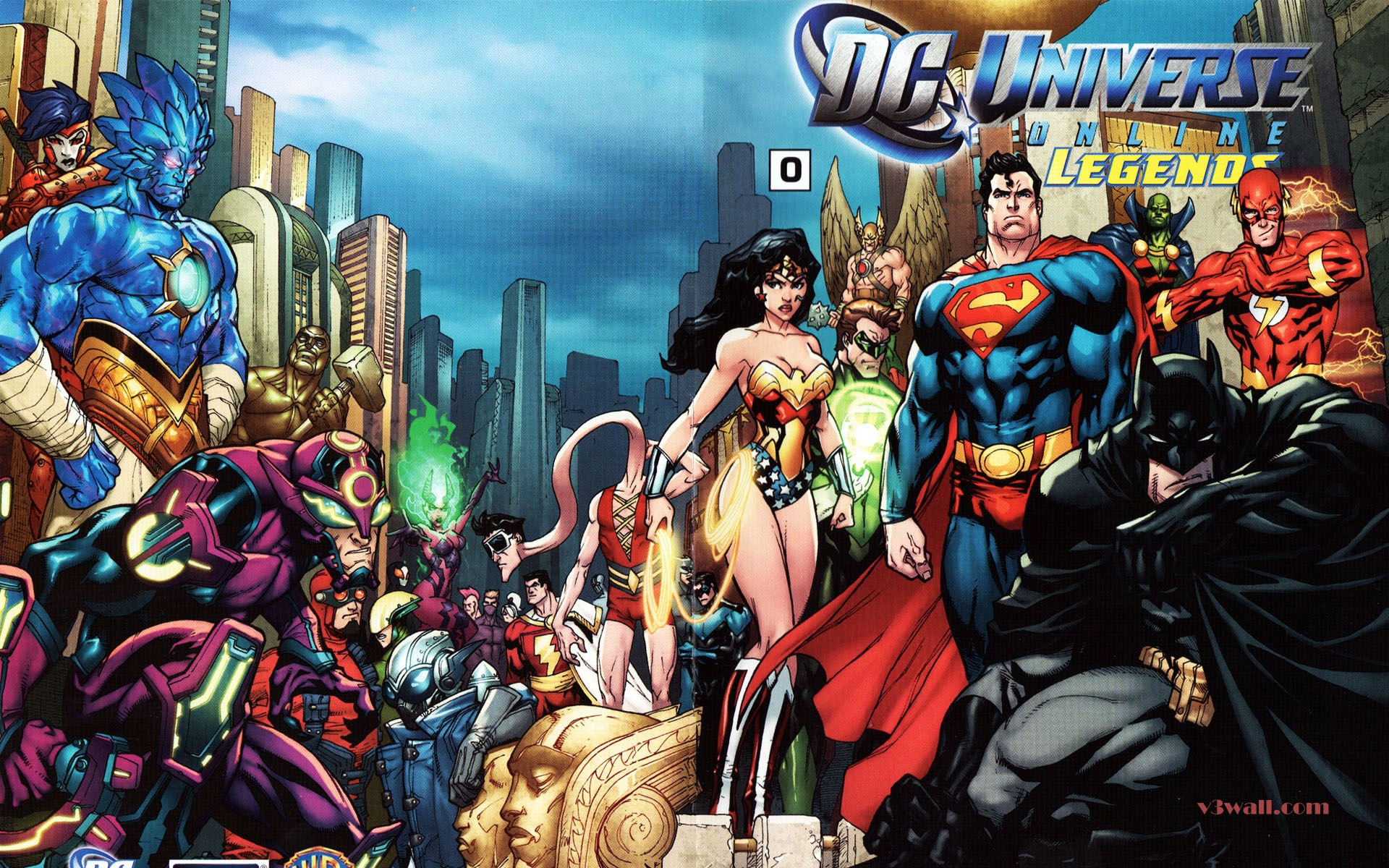 DC Universe Online Wallpapers Wallpaper 1920x1200