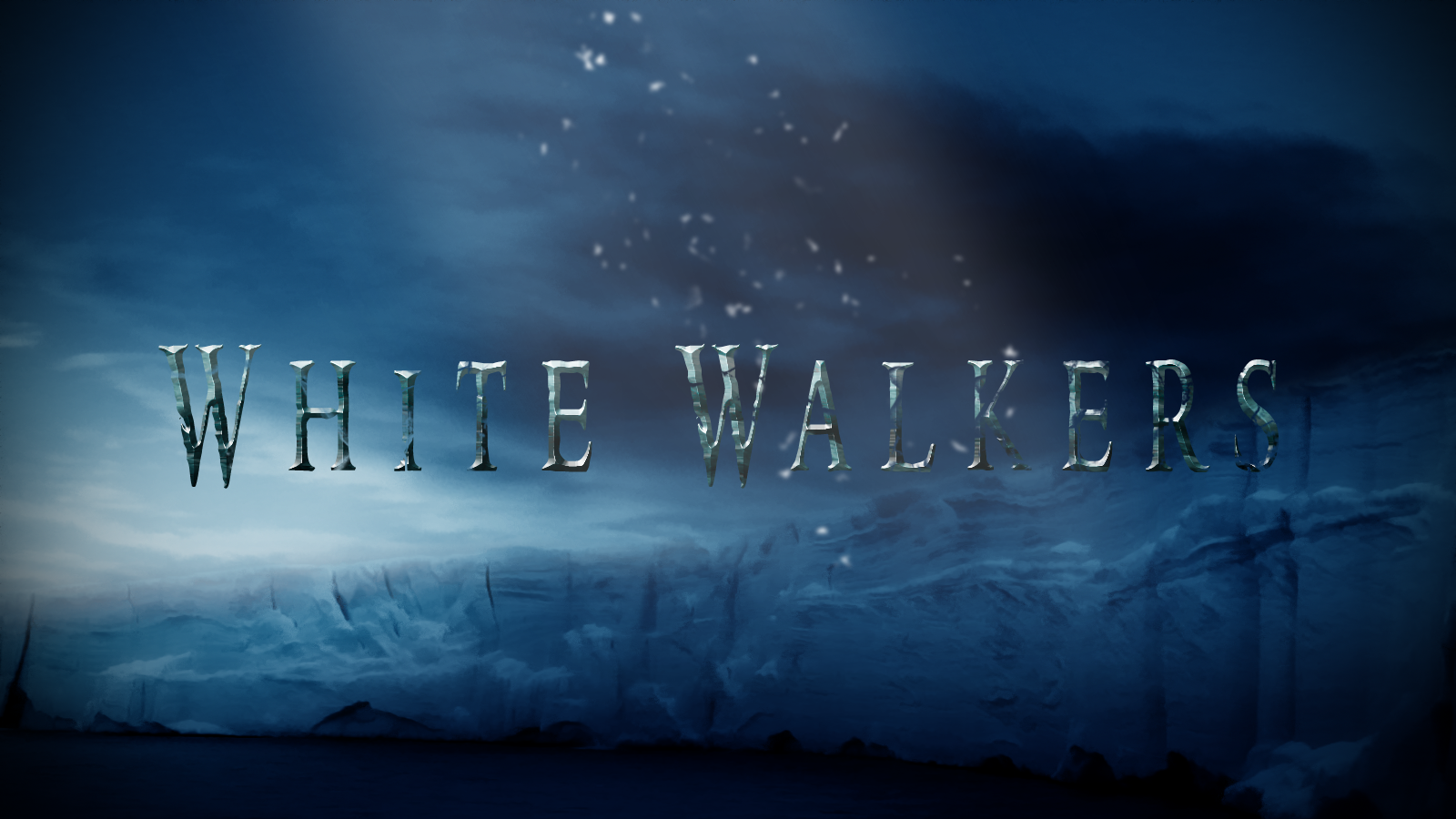 Free Download White Walkers Wallpaper By Saracennegative 1600x900