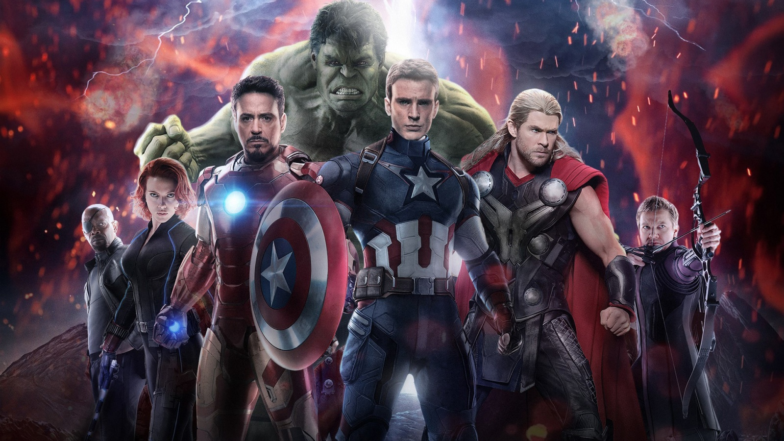 Avengers Age of Ultron 2015 Wallpapers HD Wallpapers 1600x900