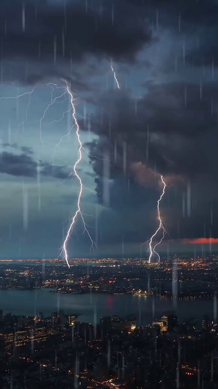 City Thunderstorm   Thunderstorm Wallpaper Iphone Hd Wallpapers 720x1280