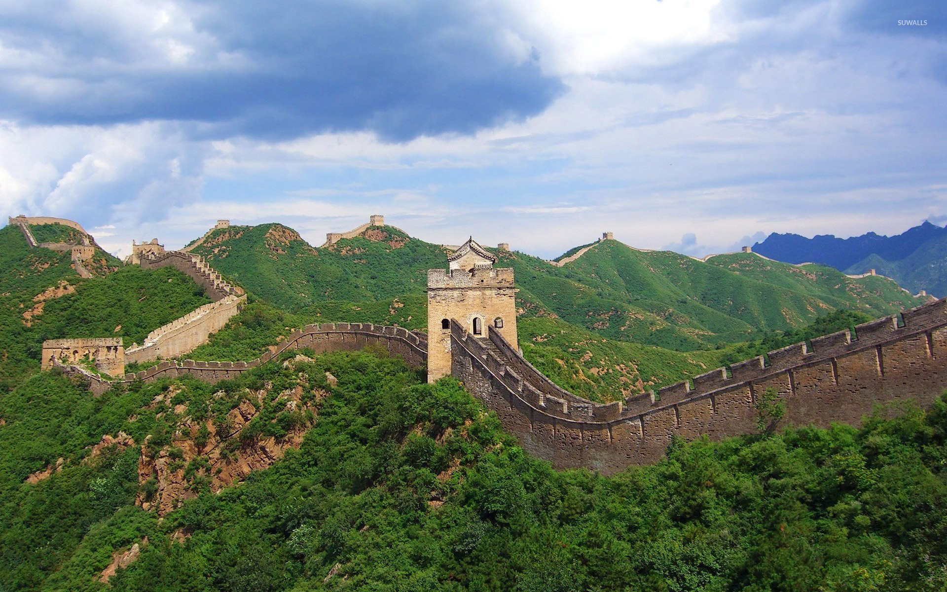 Great Wall Of China wallpaper   World wallpapers   7880 1680x1050