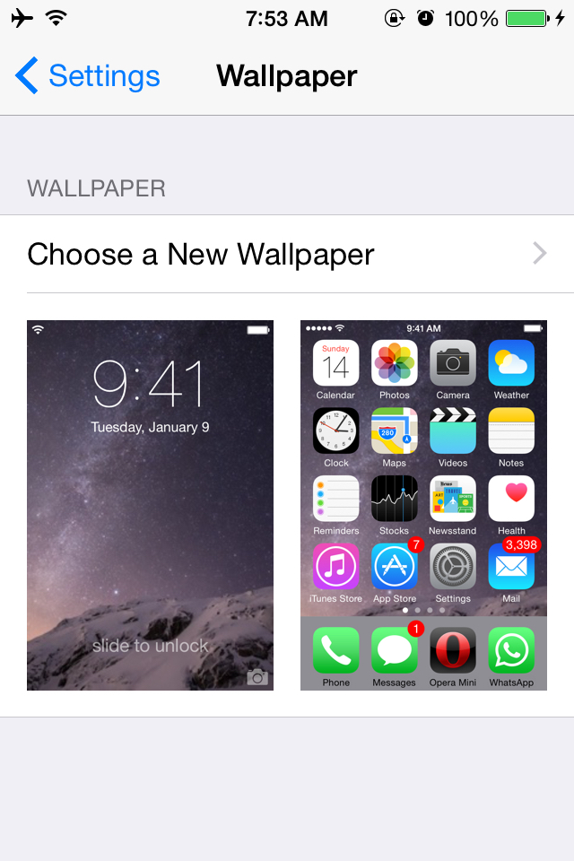 Free Download How To Change Wallpaper In Ios 8 On Iphone 6