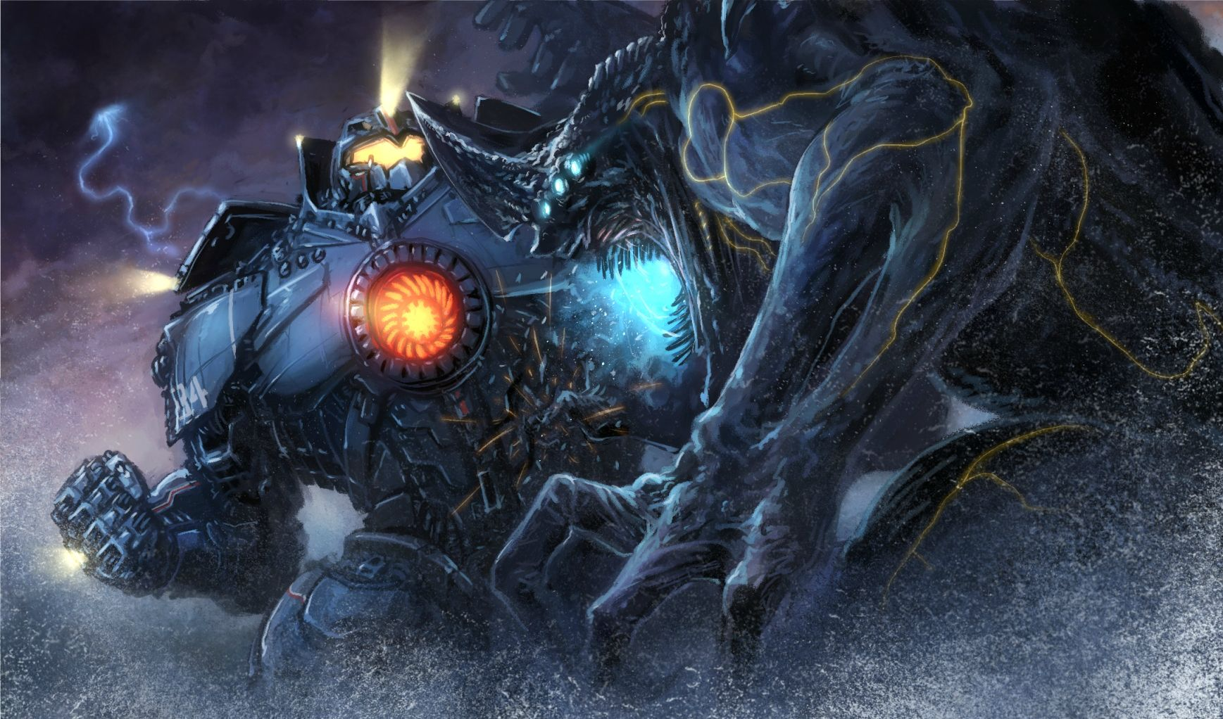 [45+] Gypsy Danger Wallpaper on WallpaperSafari Pacific Rim Jaeger Gypsy Danger Wallpaper