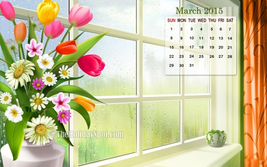 Homepage Month wise Calender Wallpapers Calendar of March 2015 541x338
