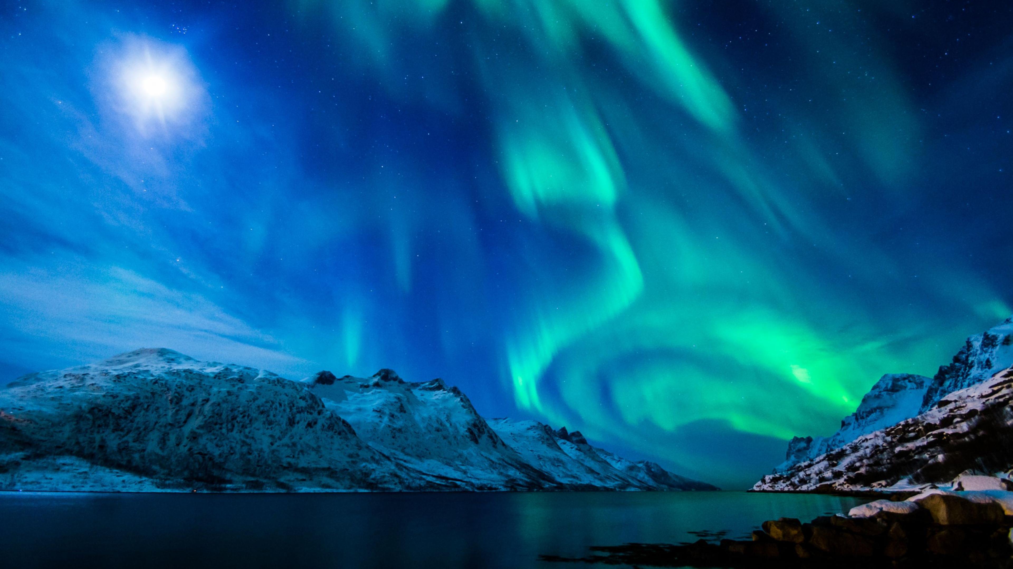 Northern Lights Wallpaper 4k Wallpapersafari