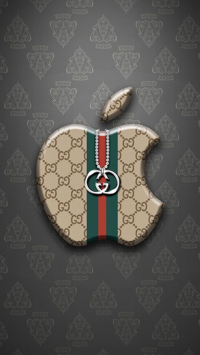 Apple Gucci iPhone Wallpaper 640x1136