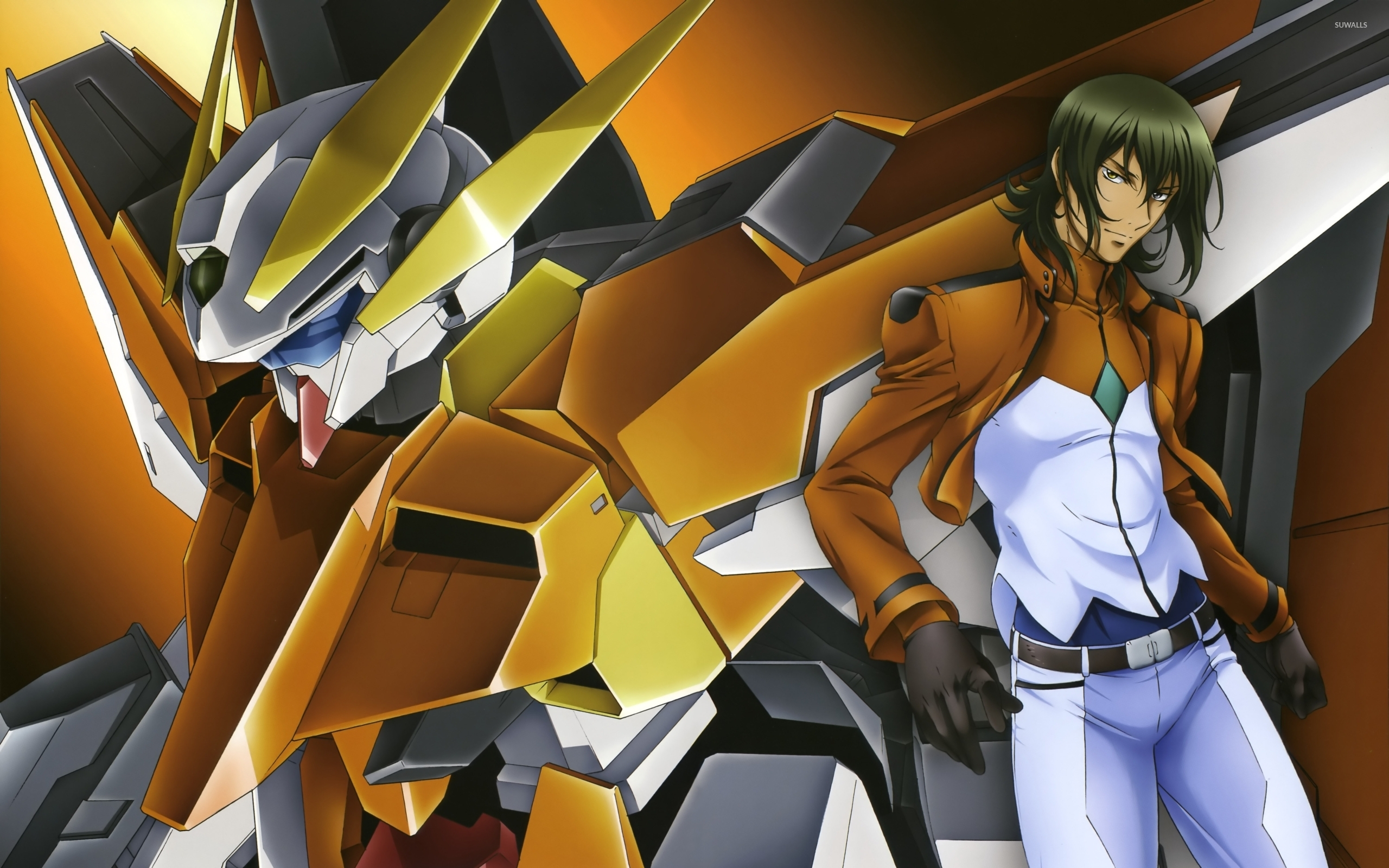 Mobile Suit Gundam 00 Desktop and mobile wallpaper Wallippo 2560x1600
