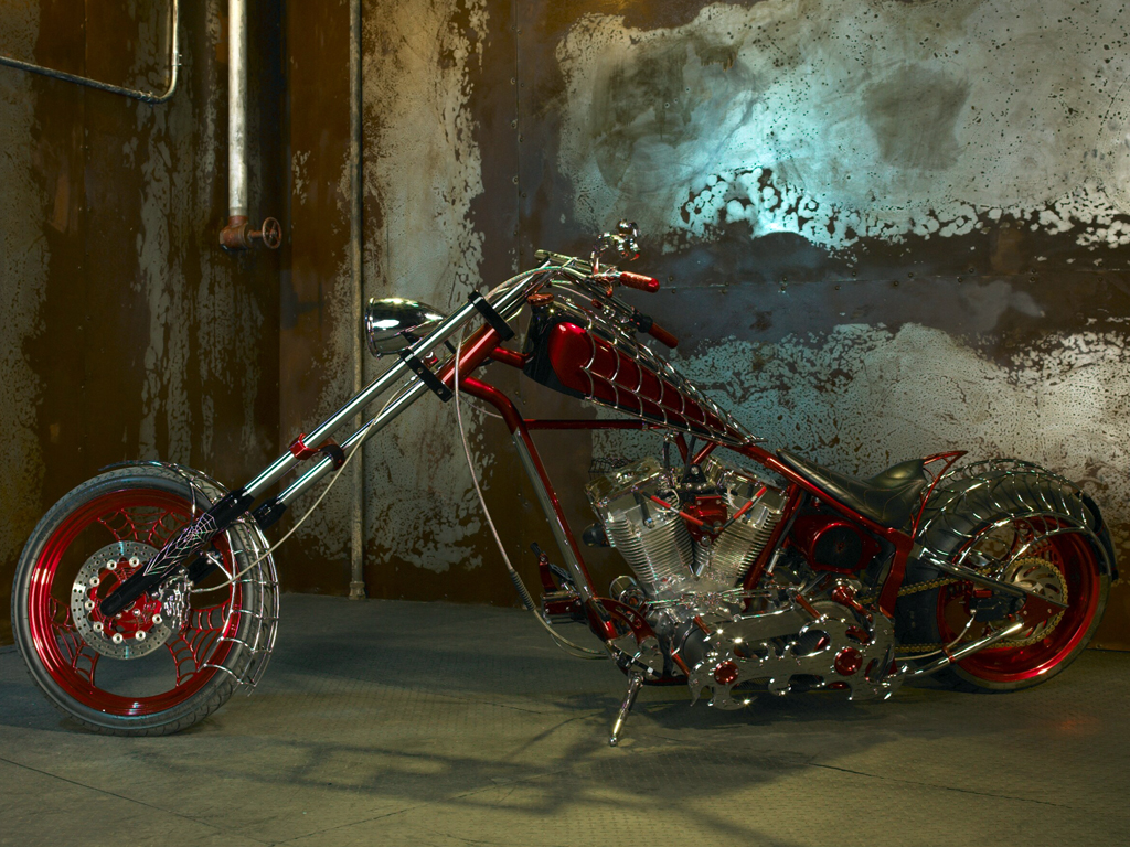 occ chopper crew   Orange County Choppers Wallpaper 1024x768