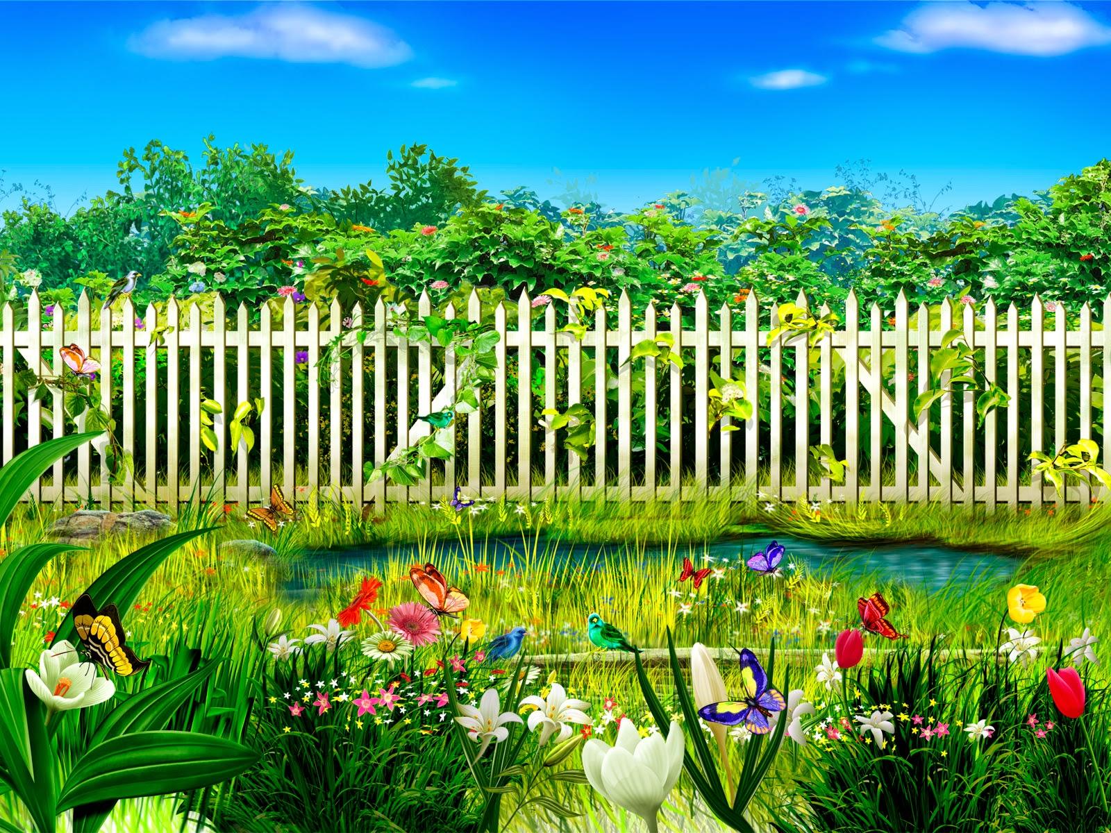 Flower Garden Wallpaper Downloadhttprefreshrose 1600x1200
