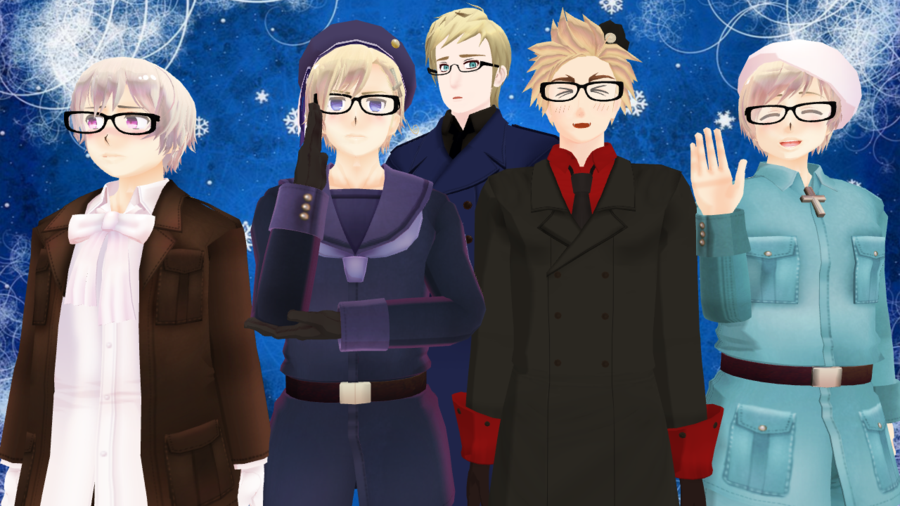 Hetalia Nordics Wallpaper 900x506