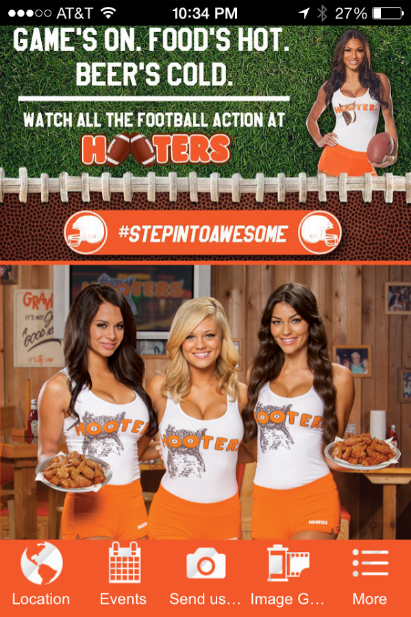 Hooters of WV   Android Apps on Google Play 600x900