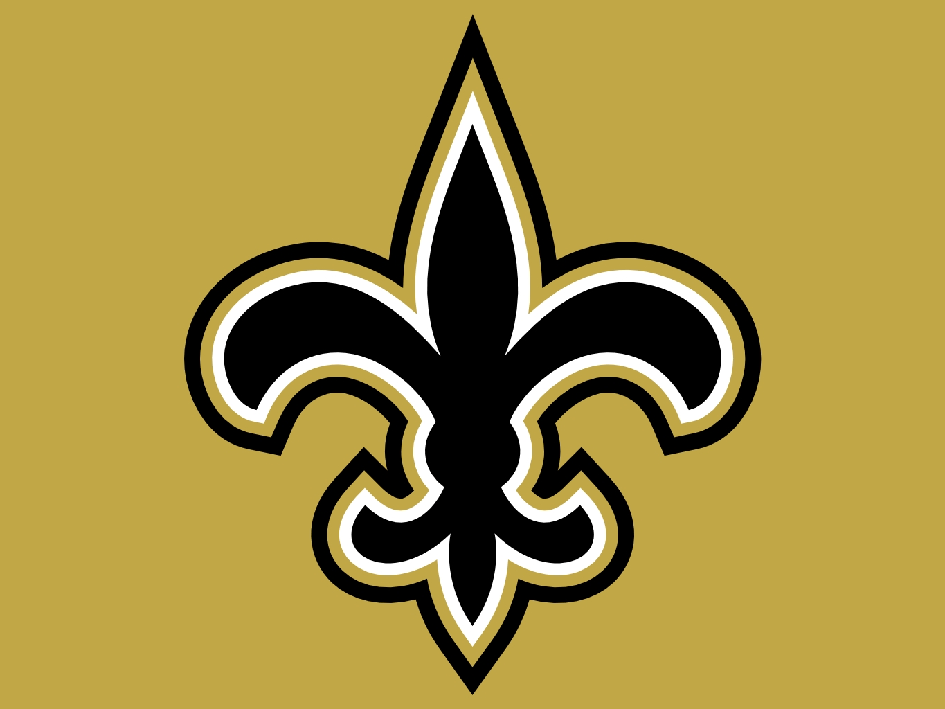 new orleans saints logo in gold background2 1365x1024