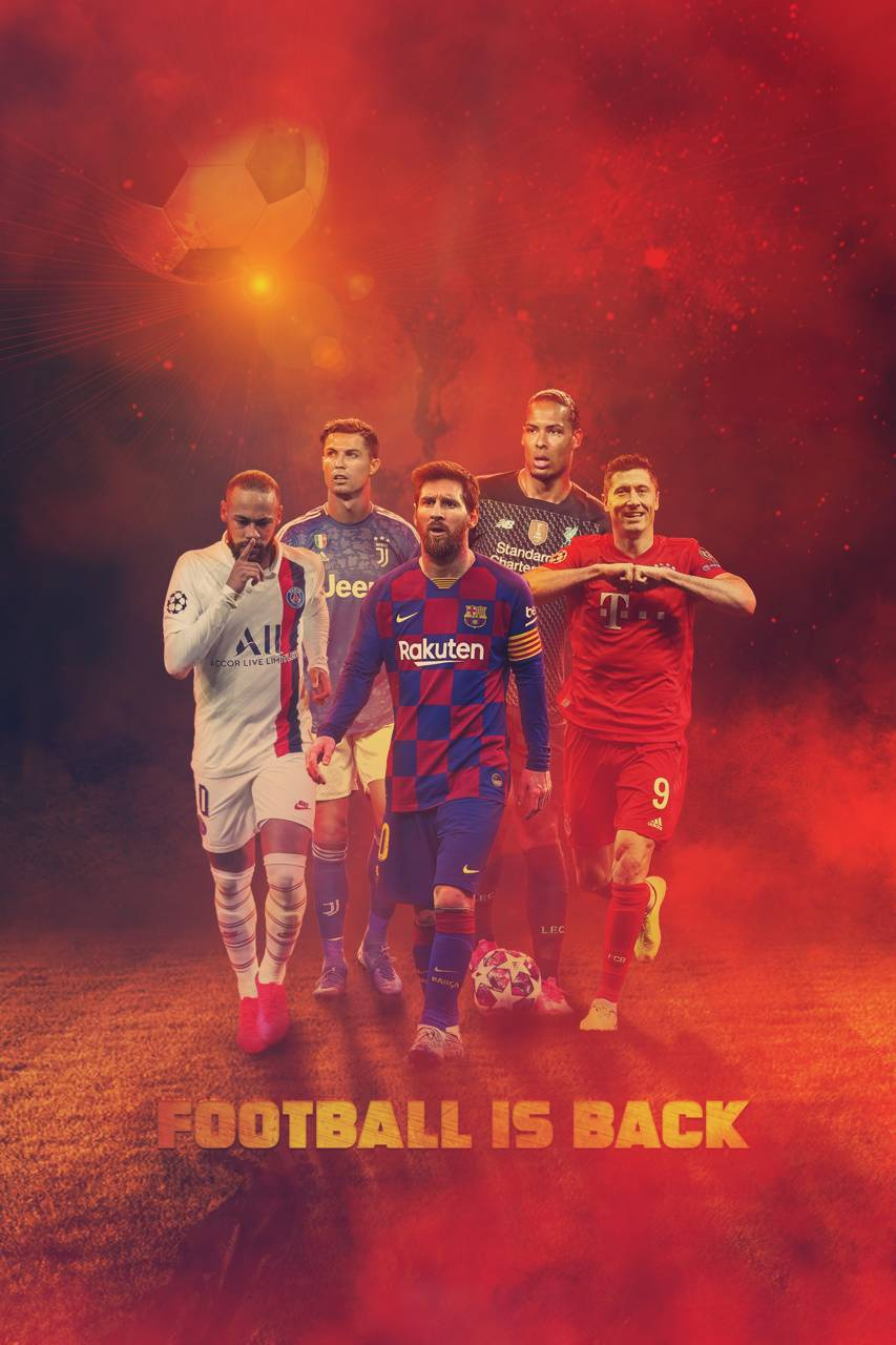 Wallpaper Background Barca Cr7 Cristiano Football Is Back Levy 853x1280