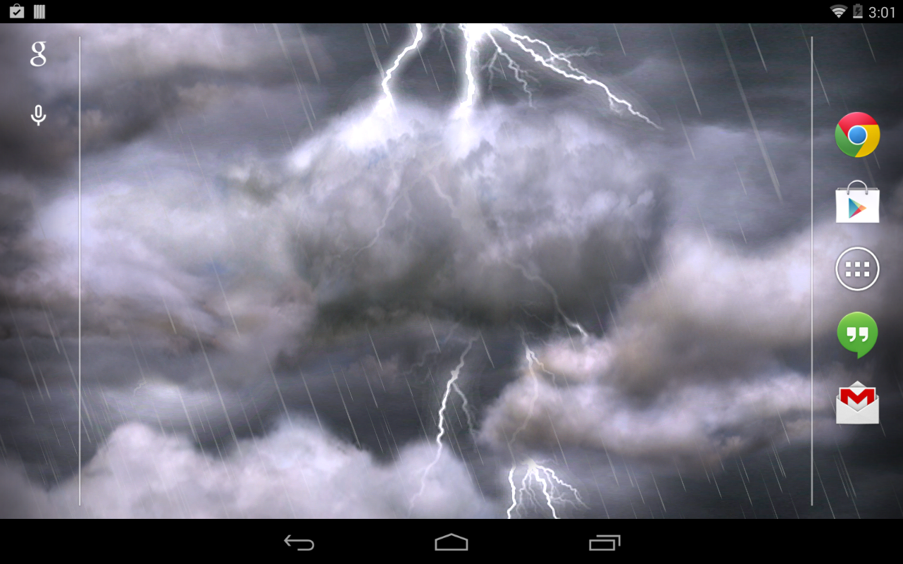 Thunderstorm Wallpaper 225 APK Download   Android 1280x800