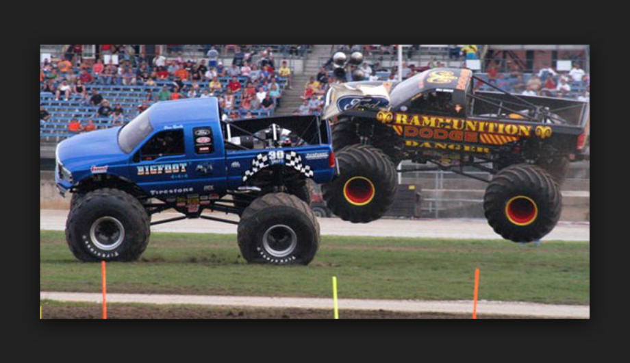 Wallpaper photos of Bob Chandler and monster truck Bigfoot 920x530
