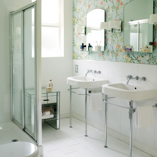 30 Bathroom Wallpaper Ideas Shelterness 500x500