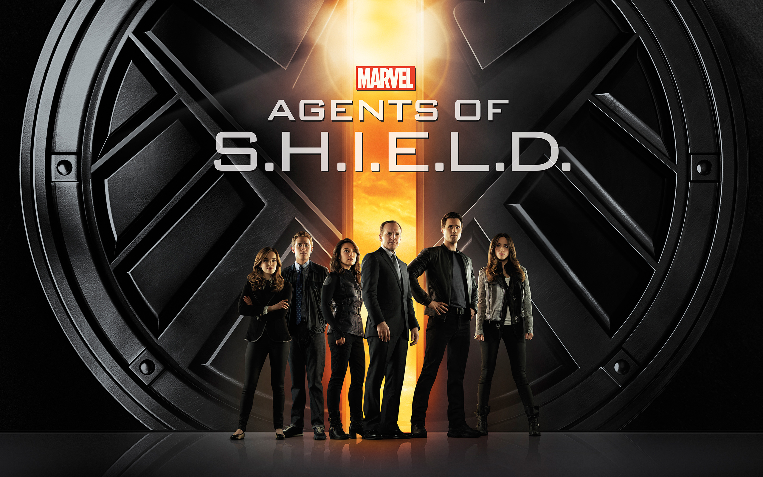 Showing Gallery For Agents Of Shield Logo Wallpaper 2560x1600