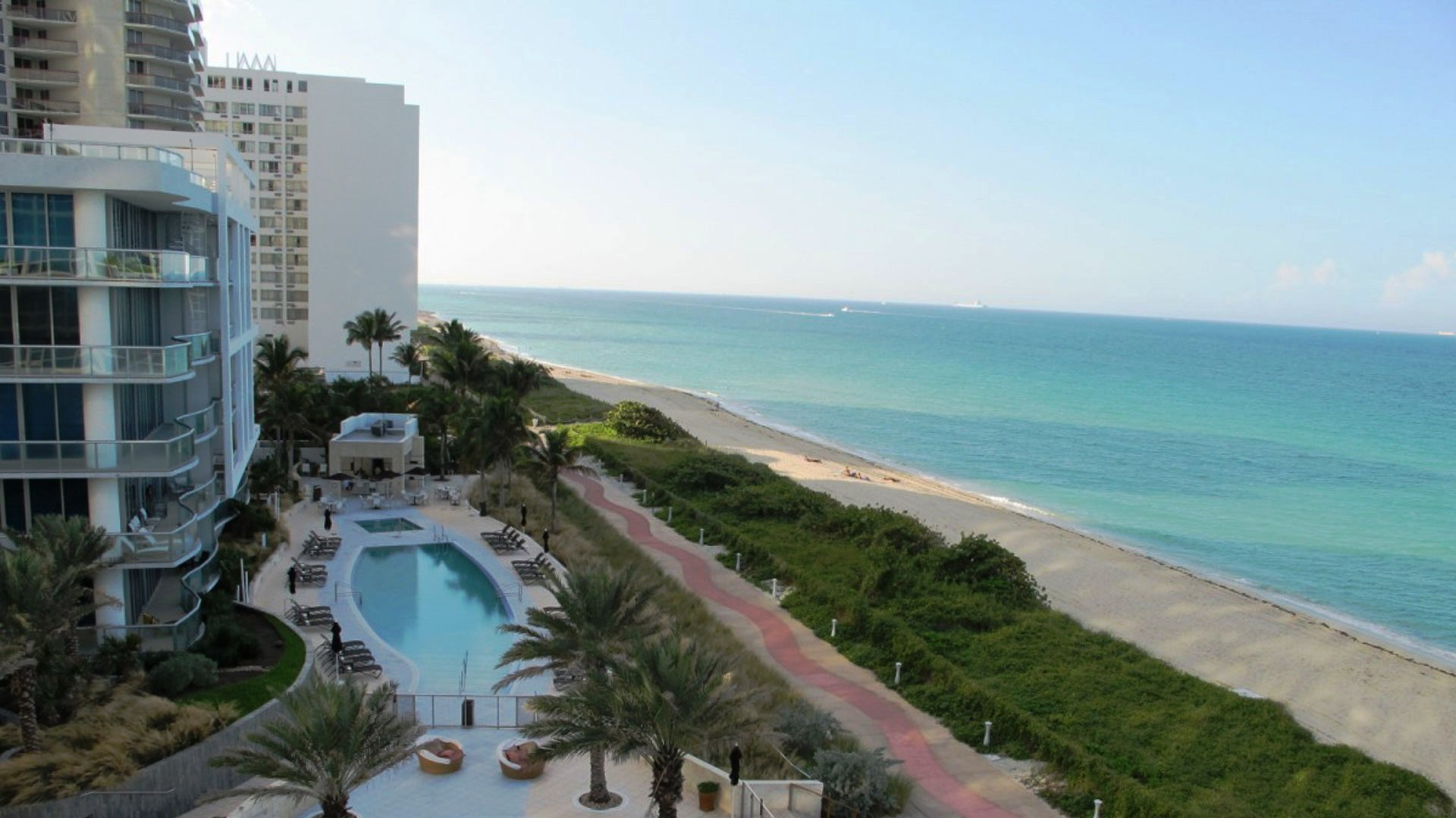 miami beach hotel hd wallpaper | wallpapers55.com - Best Wallpapers ...