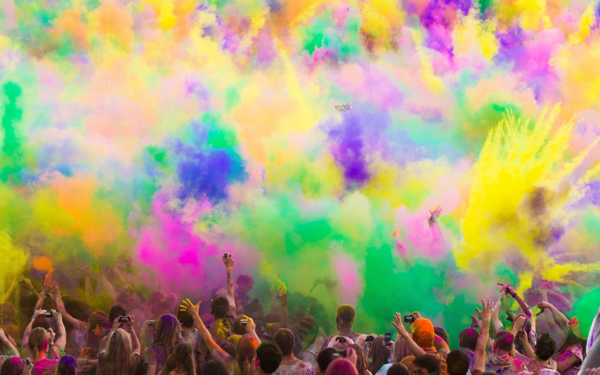 The Holi Festival of Colors 2012 Computer Wallpapers 1920x1200