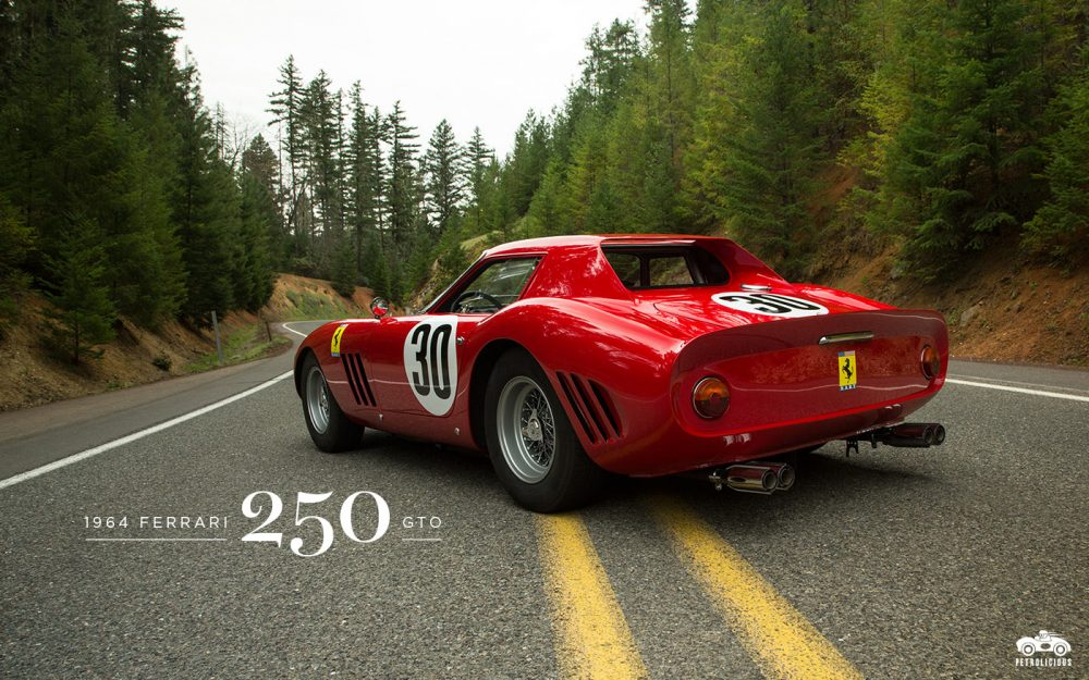 1964 Ferrari 250 GTO Wallpapers Petrolicious 1000x625