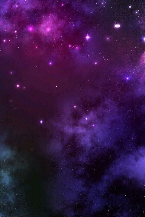 PURPLE and pink starry galaxy wallpaper ♥: Galaxy Print, Galaxies 3