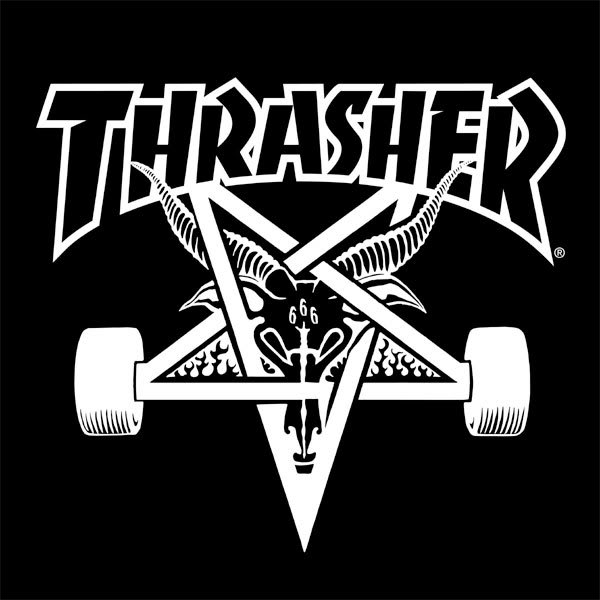 Thrasher logo black - photo#18