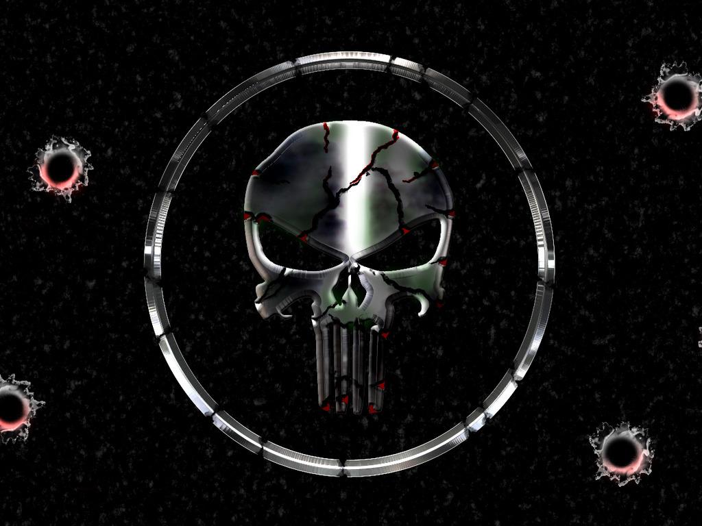 Punisher War Zone Skull The punisher wallpaper 2 hd 1024x768