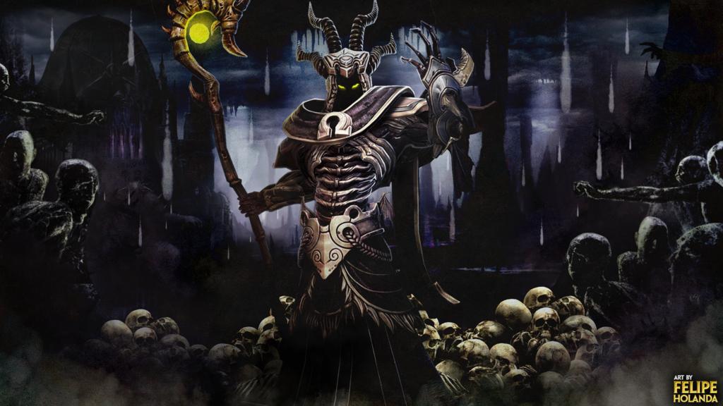 Smite   Hades wallpaper by FelipeAbreu 1024x576
