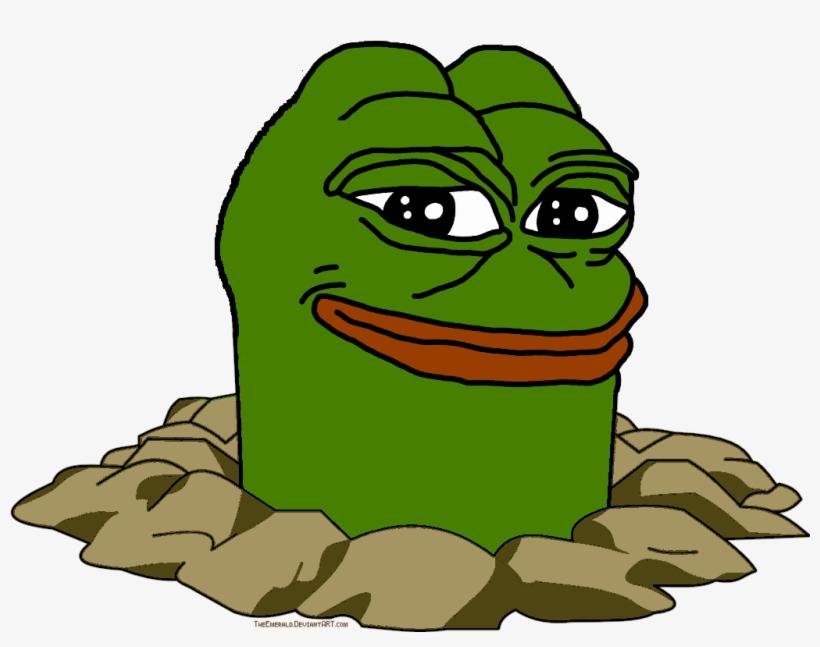 Diglett Frog   Dank Memes Transparent Background Transparent PNG 820x647